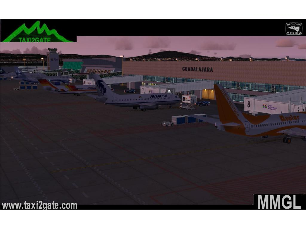 TAXI2GATE - GUADALAJARA INTERNATIONAL MMGL FS2004