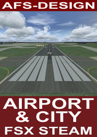 AFS-DESIGN - AIRPORT & CITY 3 FSX STEAM