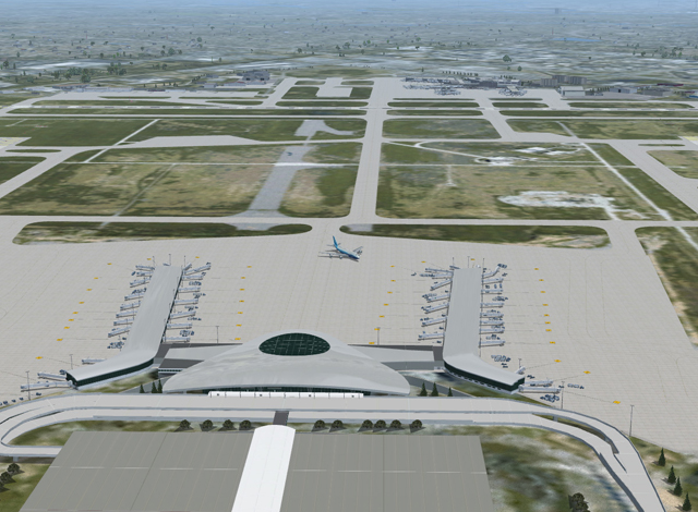 BLUEPRINT - THE NEW INDIANAPOLIS INTL KIND FSX
