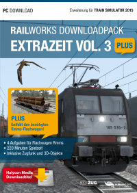RAILWORKS DOWNLOADPACK - EXTRAZEIT VOL. 3 PLUS - ERWEITERUNG FÜR TRAIN SIMULATOR 2015