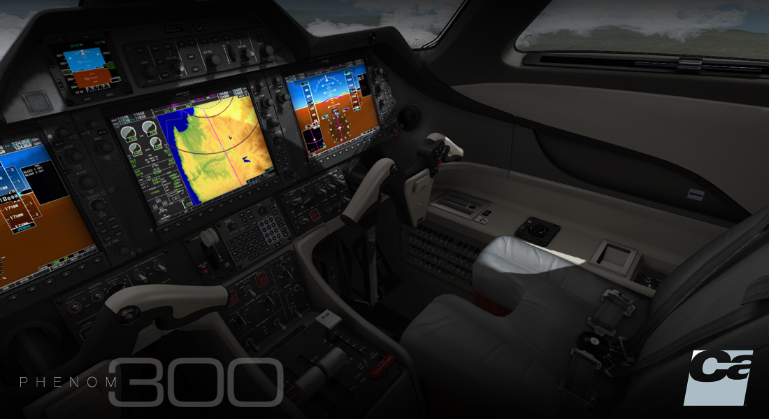 CARENADO - EMB505 PHENOM 300 HD SERIES FSX P3D