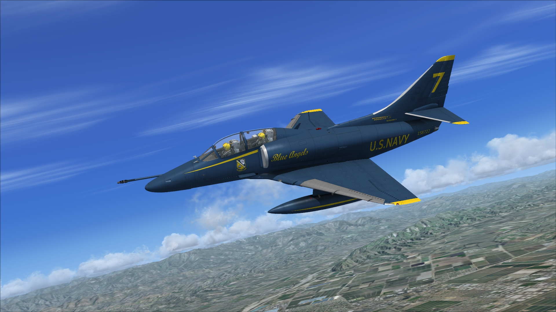 INDIAFOXTECHO VISUAL SIMULATIONS - TA-4 SKYHAWK FLIGHT SIMULATOR X EDITION