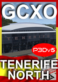 GCXO TENERIFE NORTH AIRPORT P3D5