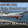 FLIGHT REPLICAS - SUPER CUB - 早期、标准和军用型 FSX P3D
