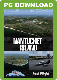 JUSTFLIGHT - NANTUCKET ISLAND FSX P3D
