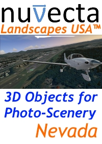 NUVECTA - LANDSCAPES USA™ NEVADA FSX P3D