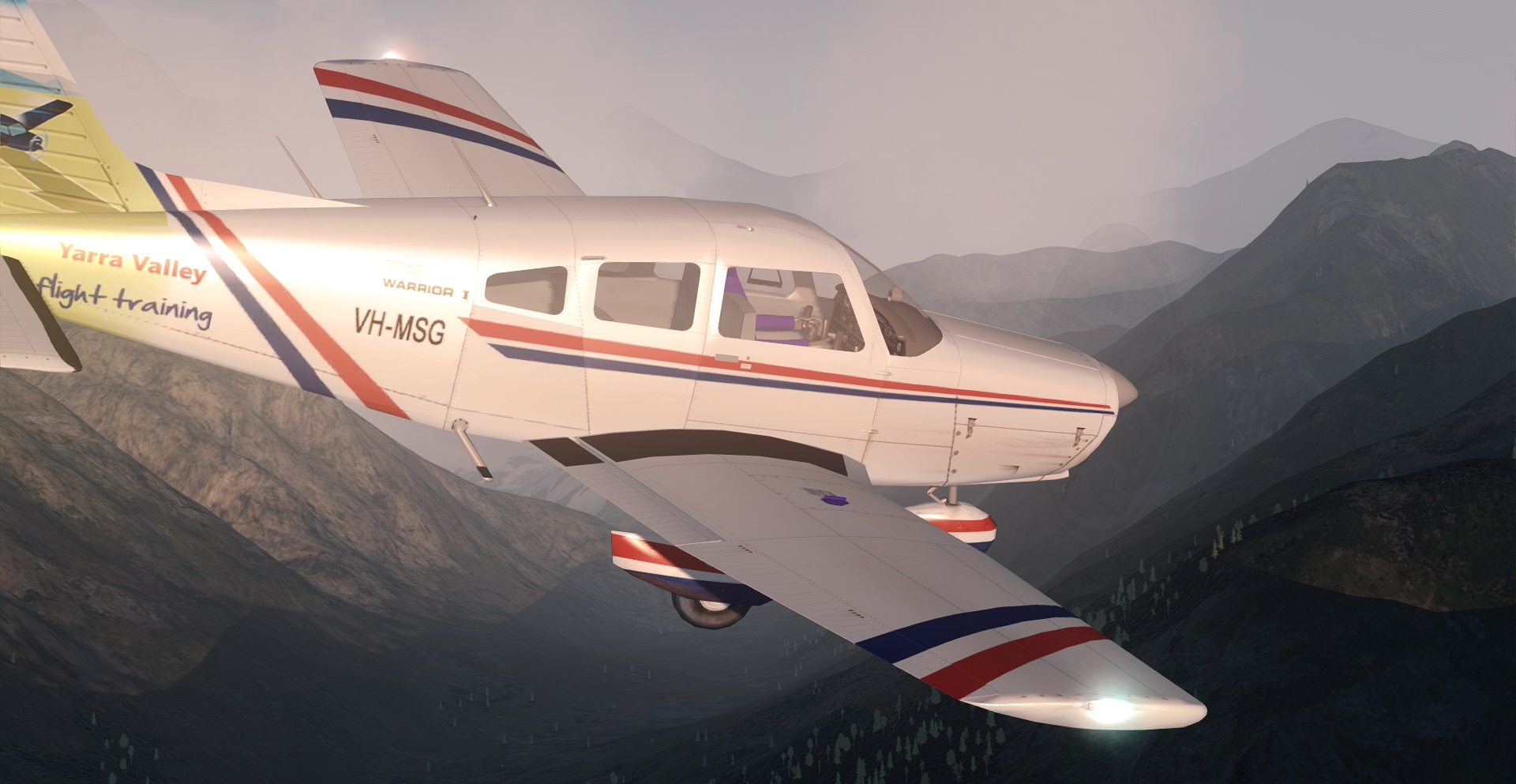 SPIKE PRODUCTIONS - PIPER WARRIOR PA-28 FSX P3D