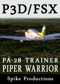 SPIKE PRODUCTIONS - PIPER 派珀 勇士 PA-28 轻型飞机 FSX P3D