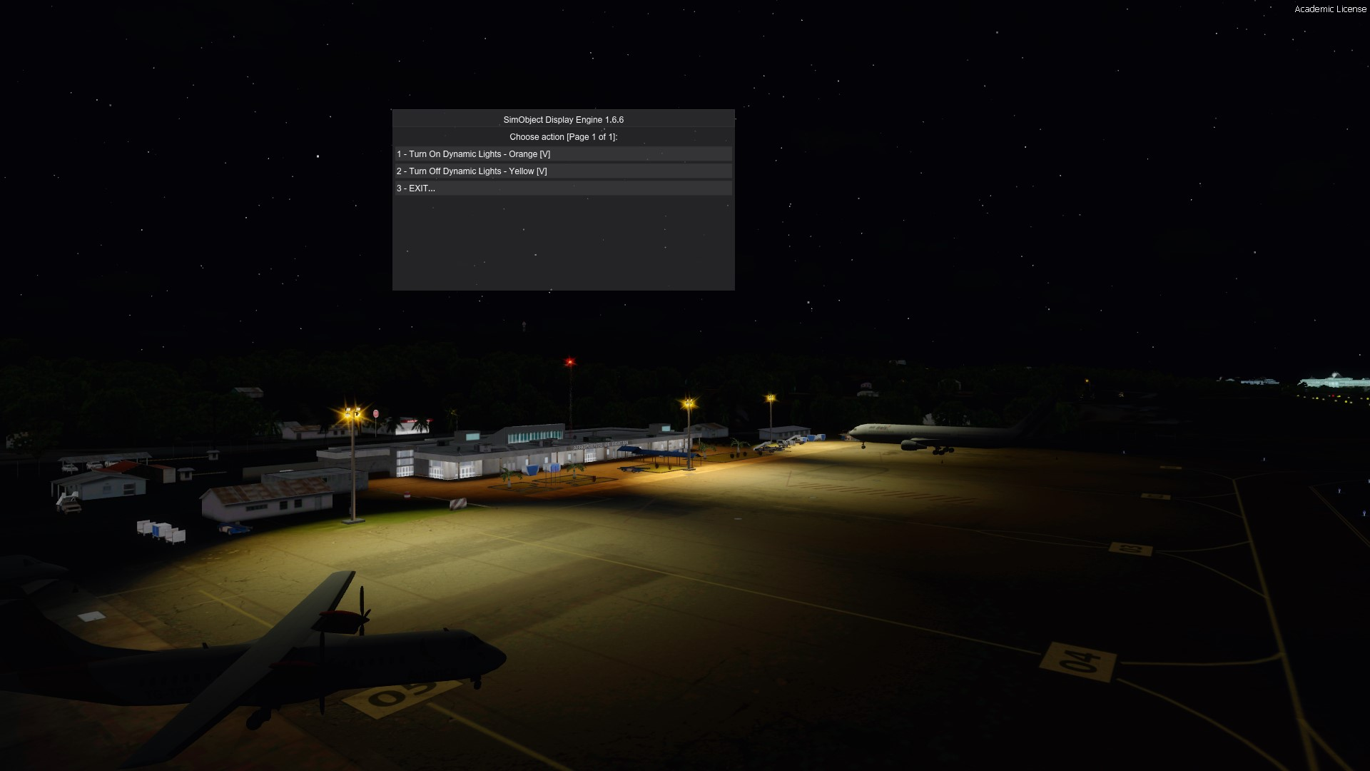 LIVING AIRPORTS - DYNAMIC LIGHTS FOR MHRO FSX P3D