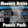FRIENDLY PANELS - MOONEY BRAVO PANELS PACK FSX