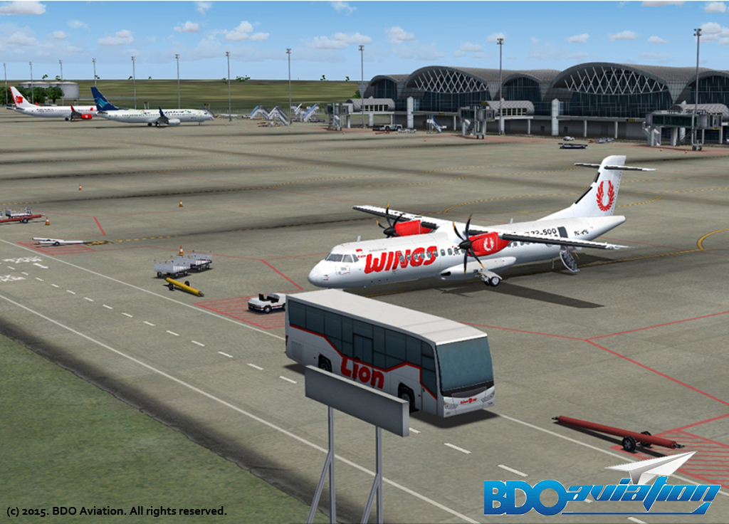 BDOAVIATION - SULTAN HASANUDDIN INTERNATIONAL AIRPORT FS2004