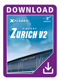 AEROSOFT - AIRPORT ZURICH V2.0 FOR X-PLANE 10/11