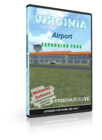 NMG SIMULATIONS - VIRGINIA AIRPORT V1.4 P3D4