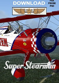 GOLDEN AGE SIMULATIONS - BOEING SUPER STEARMAN PACKAGE FSX P3D