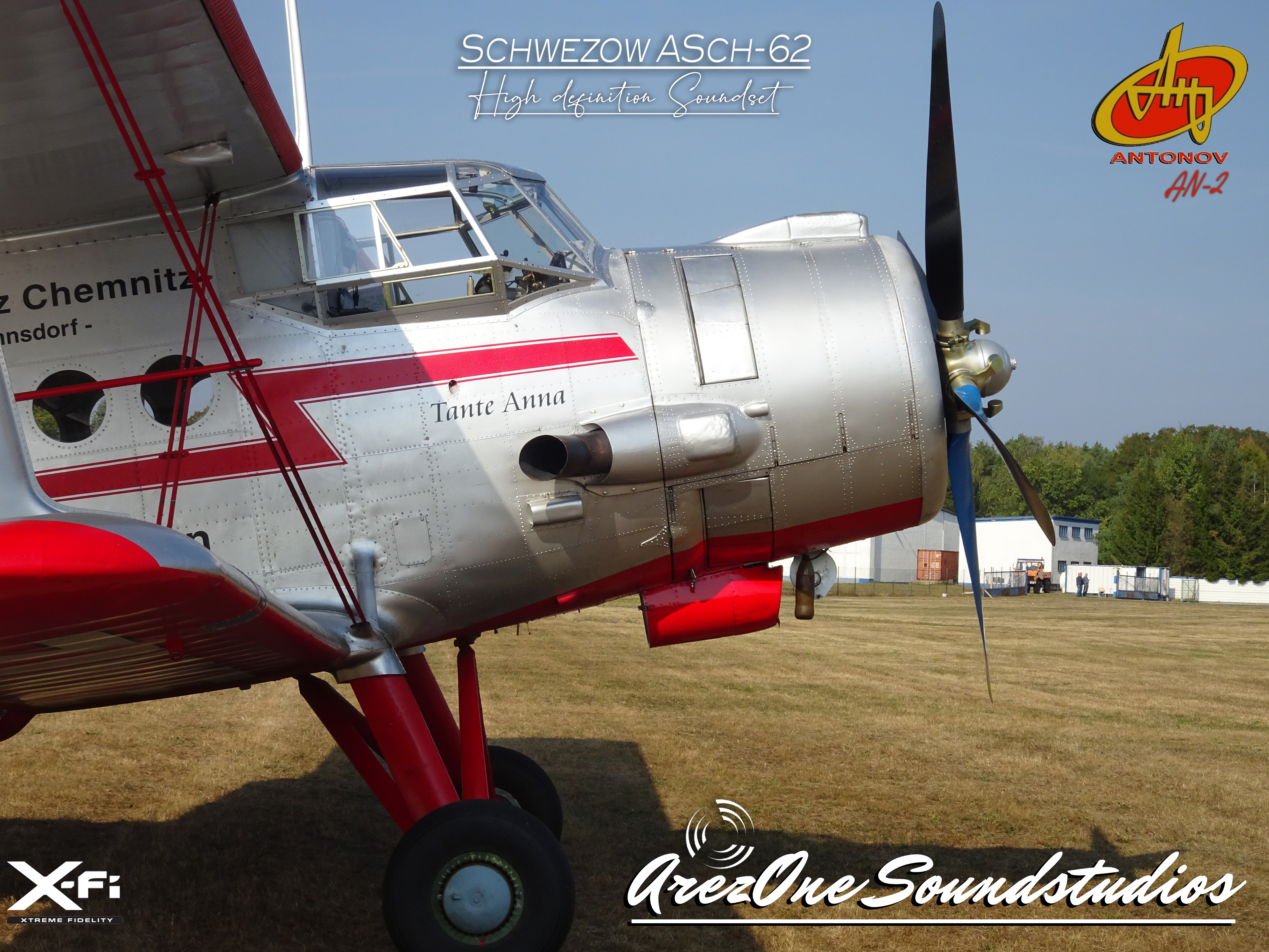 AREZONE-AVIATION SOUNDSTUDIOS - ANTONOV AN-2 HQ SOUNDSET FSX P3D