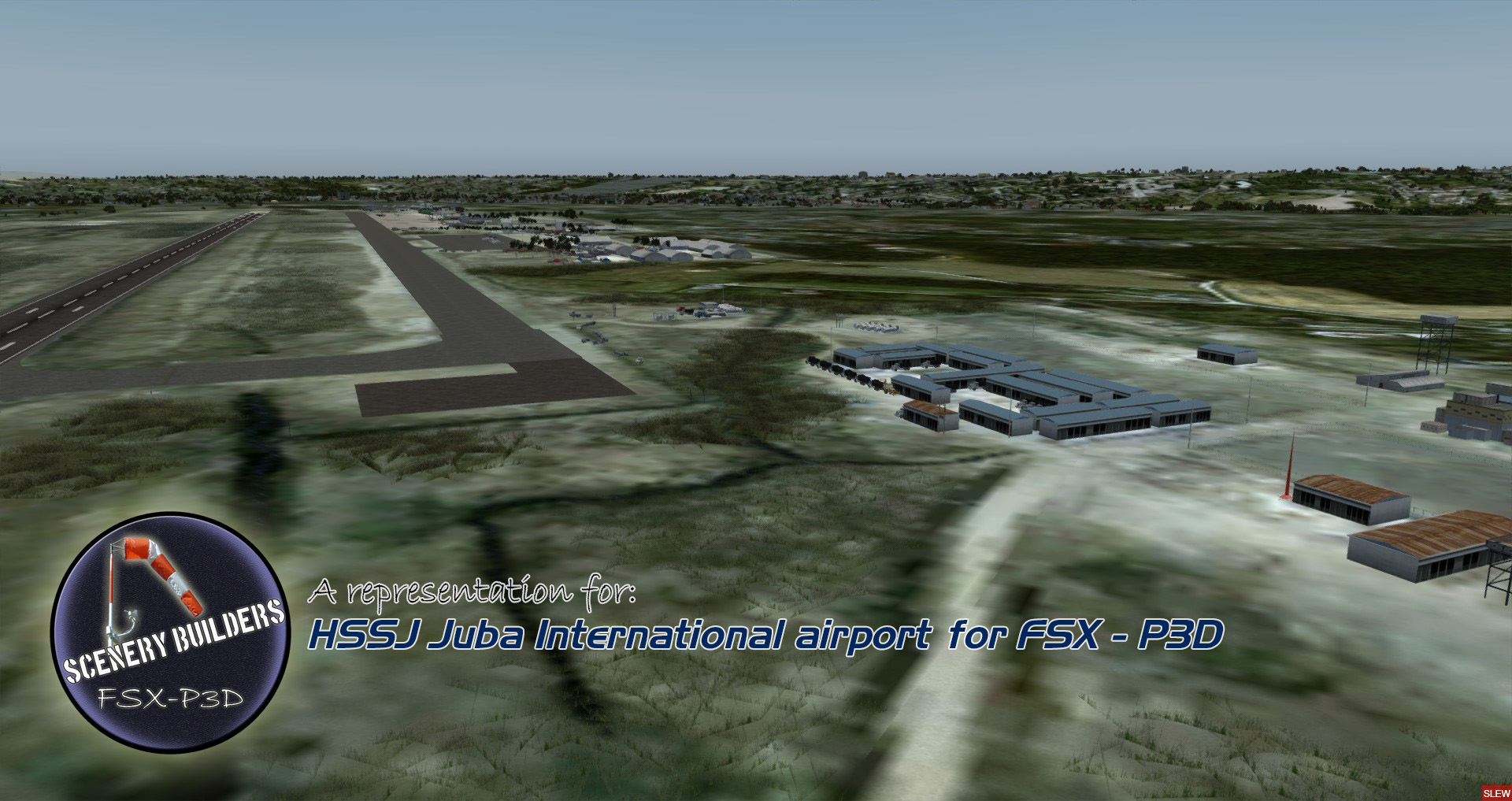 FSXCENERY - HSSJ JUBA INTERNATIONAL AIRPORT FSX P3D