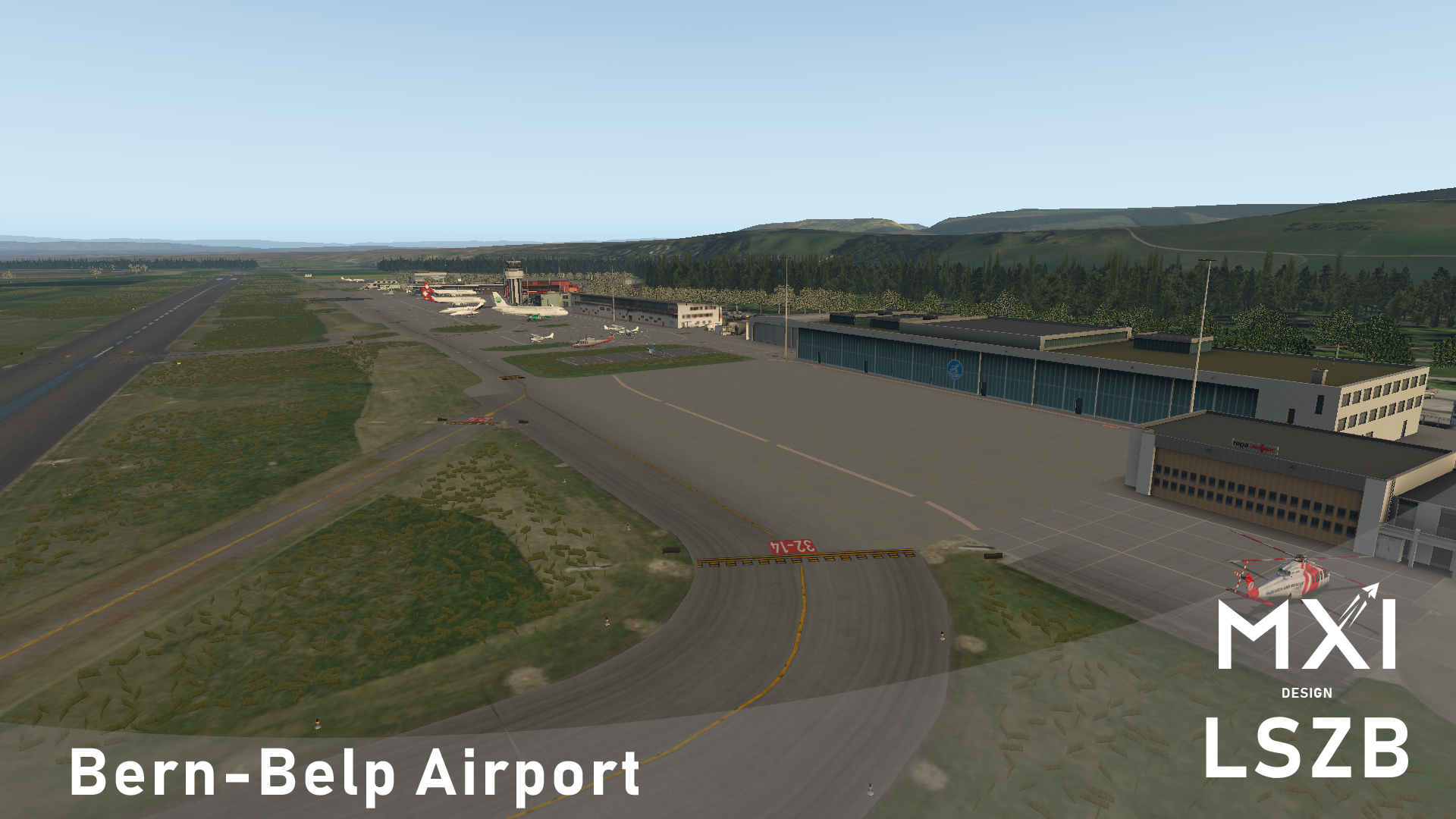 MXI DESIGN - LSZB - BERN-BELP AIRPORT FOR X-PLANE 11