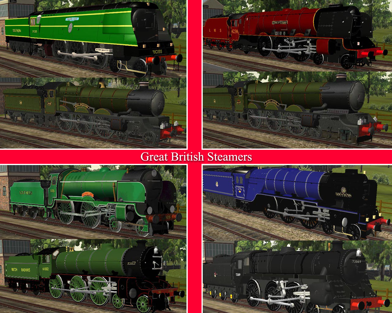 HERITAGE COLLECTION - GREAT BRITISH STEAM LOCOS