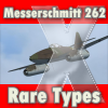 FLIGHT REPLICAS - MESSERSCHMITT 262 RARE TYPES