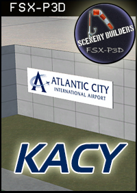 FSXCENERY -   KACY ATLANTIC CITY INTERNATIONAL AIRPORT FSX P3D