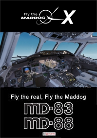 LEONARDO SOFTWARE - FLY THE MADDOG X MD-83 & MD-88 扩展包 P3D4/P3D5
