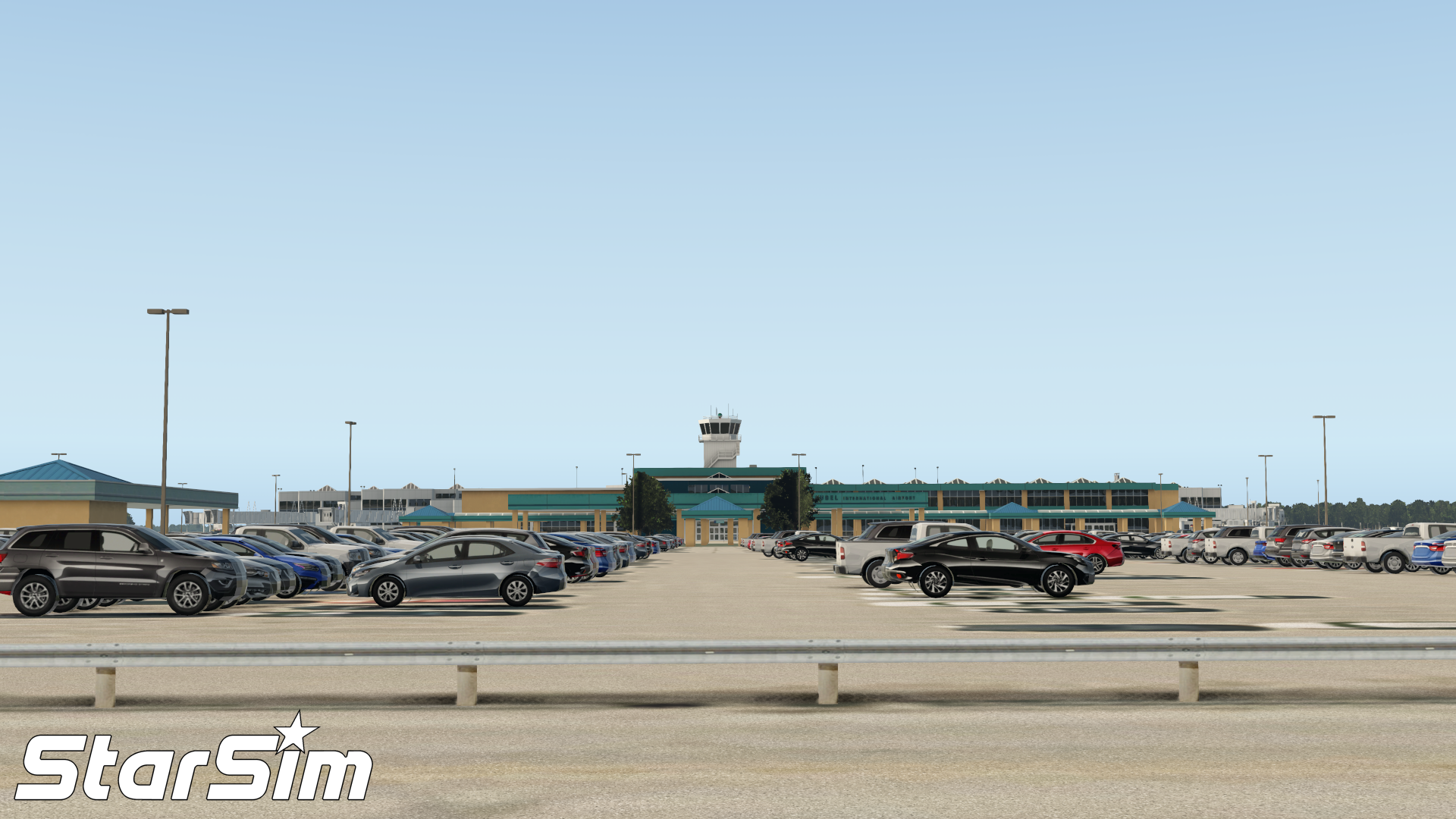 STARSIM - KGRB - GREEN BAY - AUSTIN STRAUBEL INTERNATIONAL AIRPORT X-PLANE 11