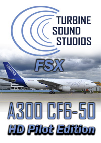 TURBINE SOUND STUDIOS - AIRBUS A300 GE CF-6-50C2 HD PILOT EDITION SOUNDPACK FSX