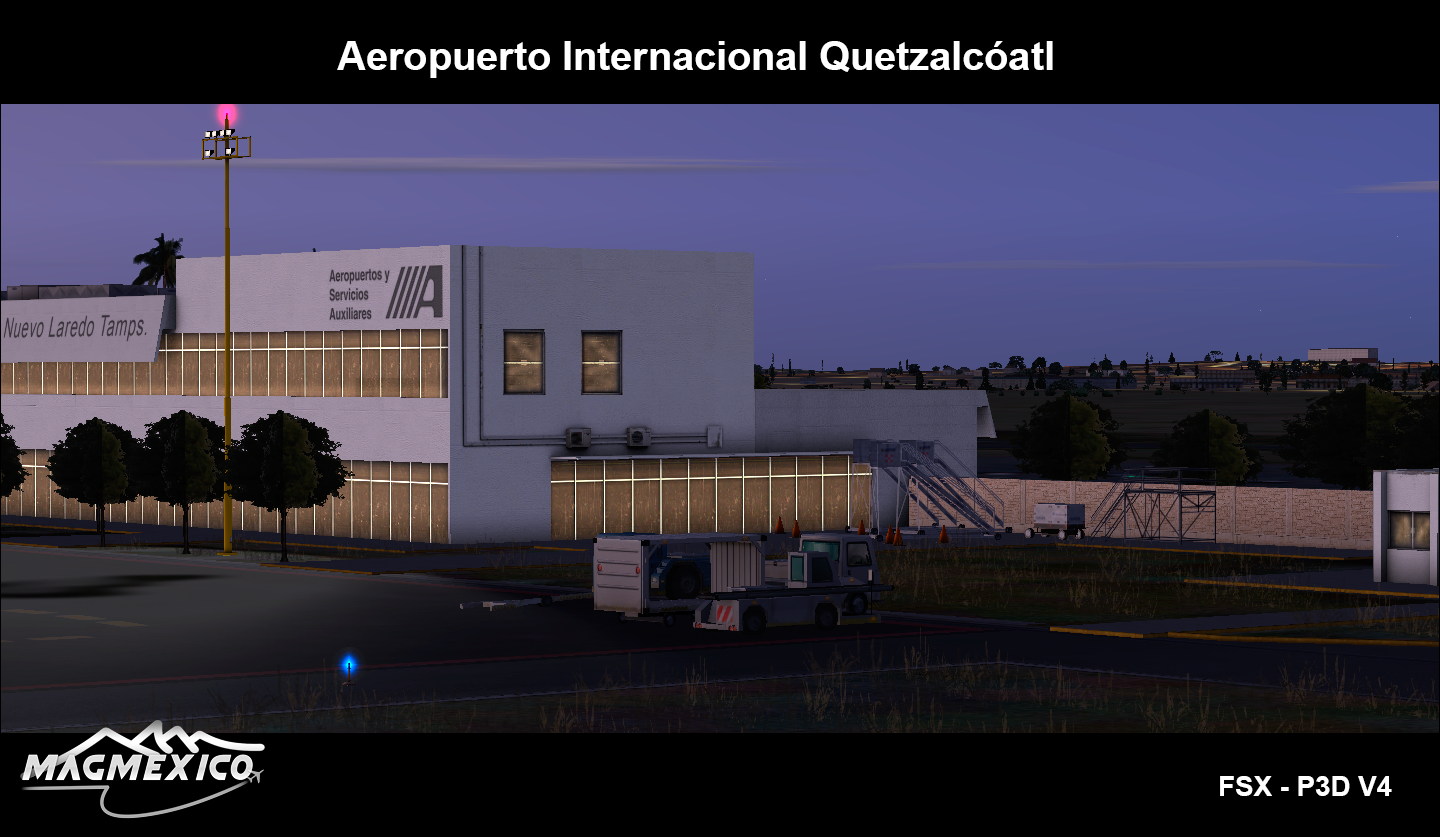 MAGMEXICO - QUETZALCÓATL INTERNATIONAL AIRPORT FSX P3D
