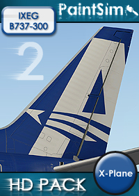 PAINTSIM - HD TEXTURE PACK 2 FOR IXEG BOEING 737-300 CLASSIC X-PLANE 10/11