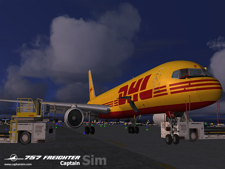CAPTAIN SIM - BLOCK FREIGHTER - 757 FREIGHTER EXPANSION FS2004