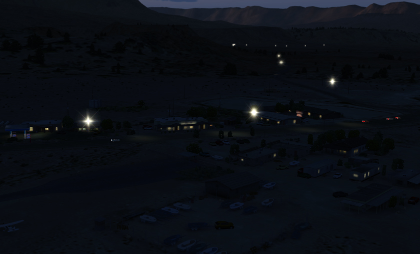 CRAZYCREATIVES SIM DESIGN GROUP - MARBLE CANYON AIRPORT L41 FSX P3D