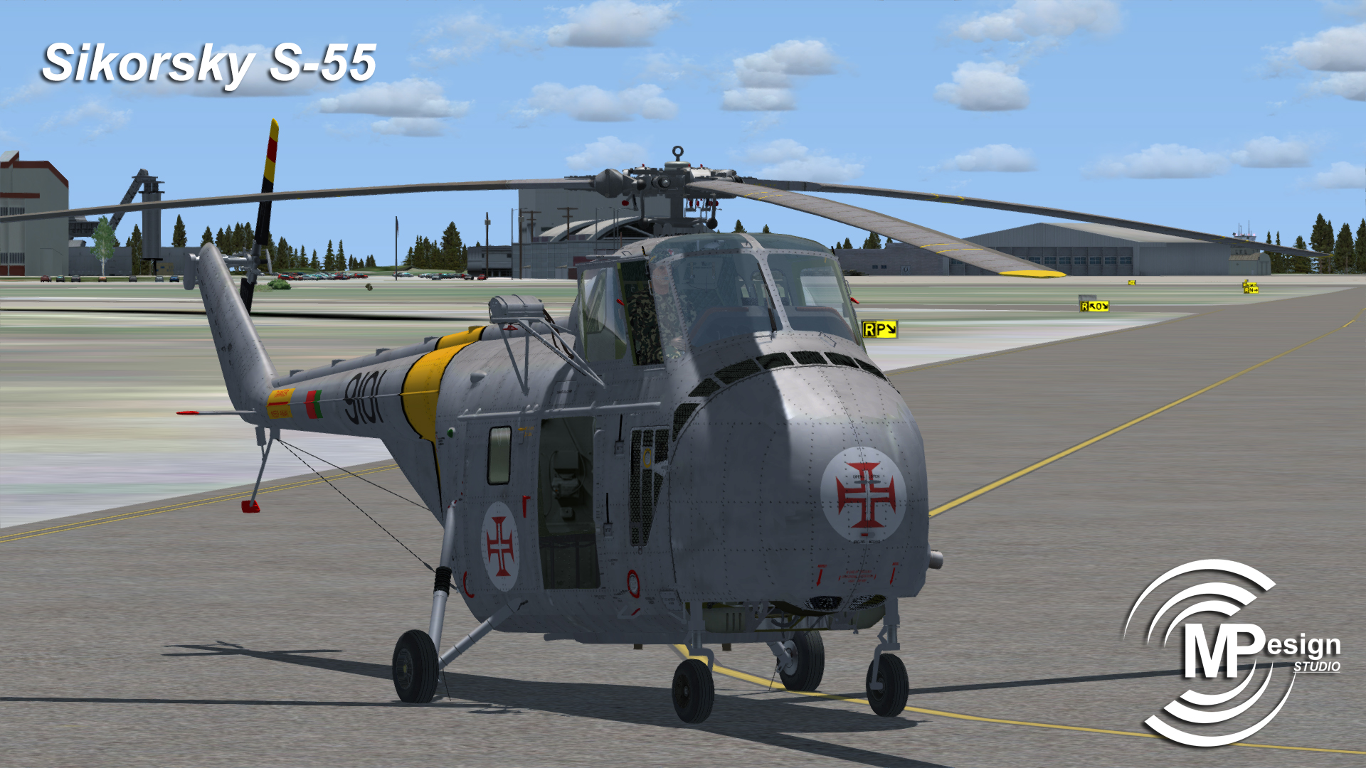 MP DESIGN STUDIO - SIKORSKY S-55 FSX P3D