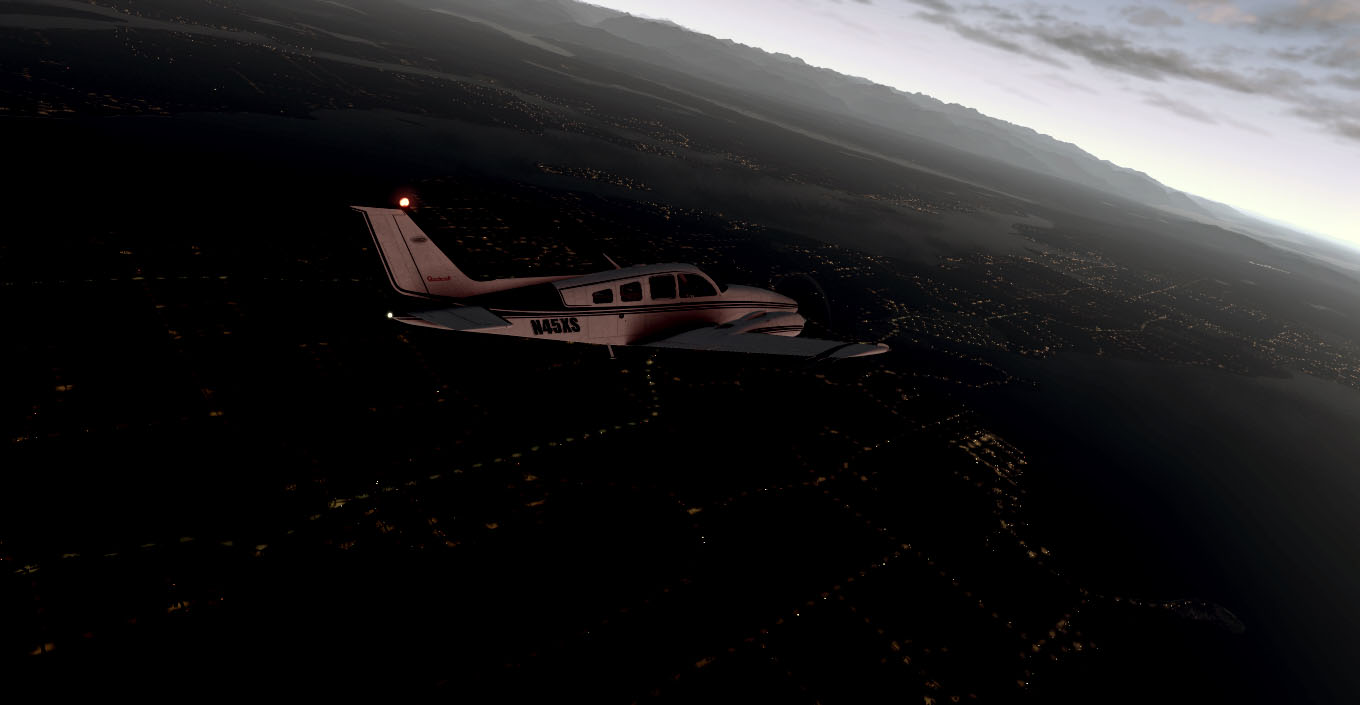 TABURET - NIGHTXP WASHINGTON AND OREGON X-PLANE 10/11