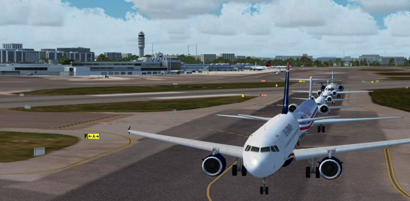 TROPICALSIM - WASHINGTON NATIONAL KDCA FS9 FSX P3D