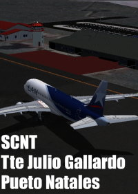 FLIGHTSIMDESIGN CHILE - TENIENTE JULIO GALLARDO AIRPORT FSX P3D FS2004