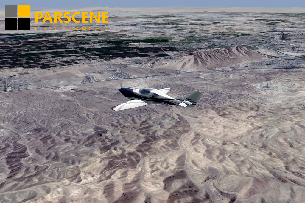 PARSCENE - IRAN MEGA SCENERY V3.0 VOL.1 TEHRAN AND COUNTRYSIDE P3D