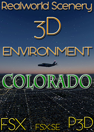 REALWORLD SCENERY - COLORADO 3D ENVIRONMENT FSX P3D