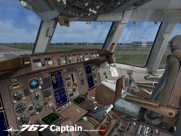 CAPTAIN SIM - 767-300 CAPTAIN BASE PACK - FSX
