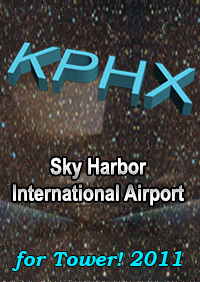 PHOENIX SKY HARBOR INTERNATIONAL AIRPORT KPHX FOR TOWER! 2011