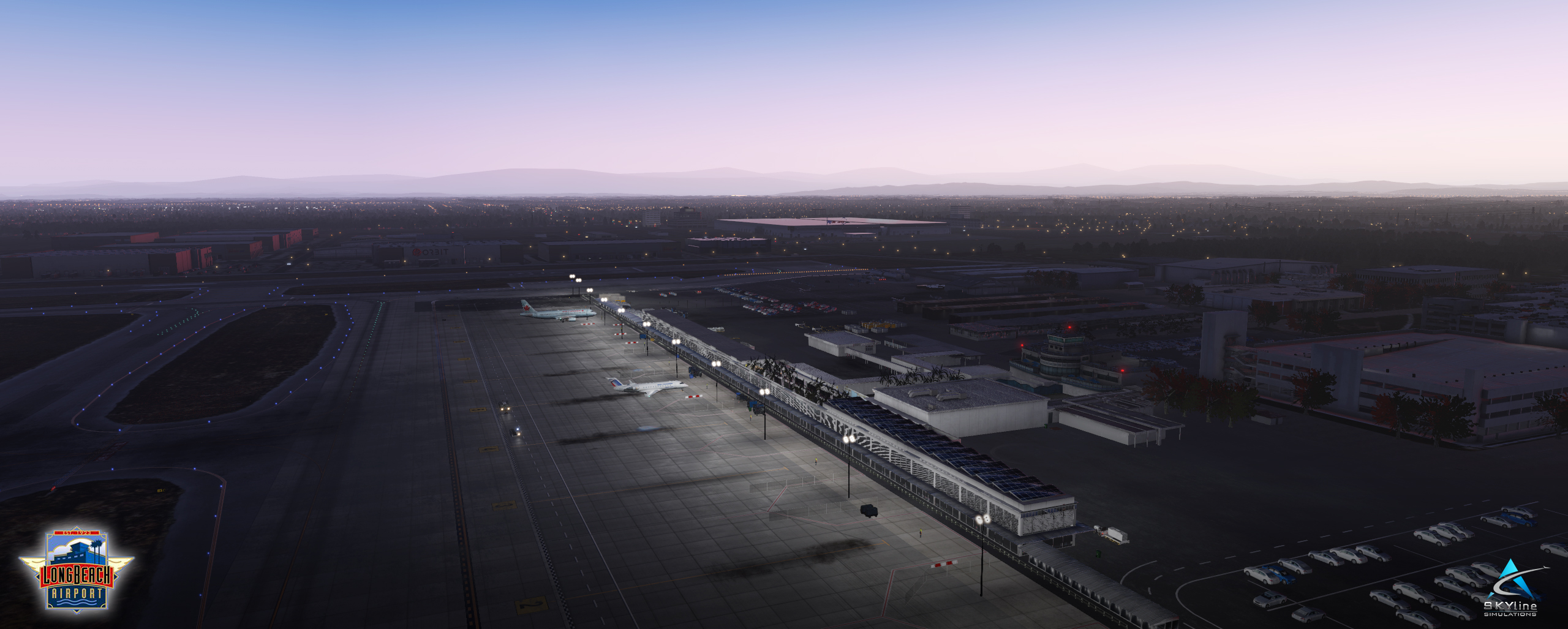 SKYLINE SIMULATIONS - KLGB – LONG BEACH AIRPORT FOR X-PLANE 11