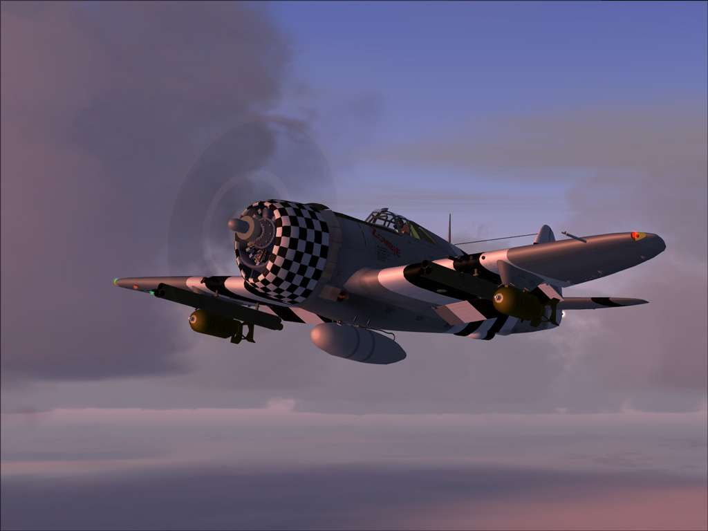 A2A SIMULATIONS - WINGS OF POWER P47 THUNDERBOLT