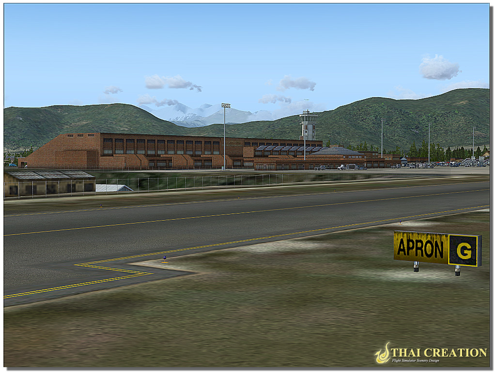 THAI CREATION - NAMASTE NEPAL: TRIBHUVAN INTL AIRPORT FSX