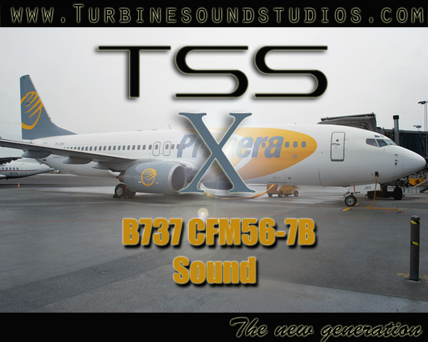 TURBINE SOUND STUDIOS - BOEING 737NG CFM56-7B SOUNDPACK FOR FSX