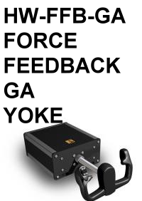FI - HW-FFB-GA FORCE FEEDBACK GA YOKE