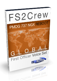 FS2CREW - PMDG 737 NGX GLOBAL FO VOICE SET FSX P3D