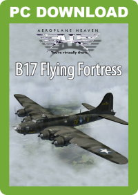 JUSTFLIGHT - AEROPLANE HEAVEN B-17 FLYING FORTRESS FSX P3D