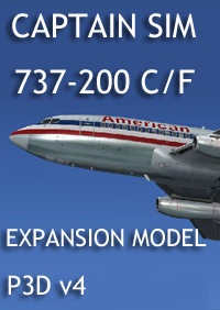 CAPTAIN SIM - 737 CAPTAIN - 737-200C/F EXPANSION P3D v4