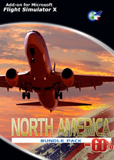 PERFECT FLIGHT - NORTH AMERICA BUNDLE PACK FSX