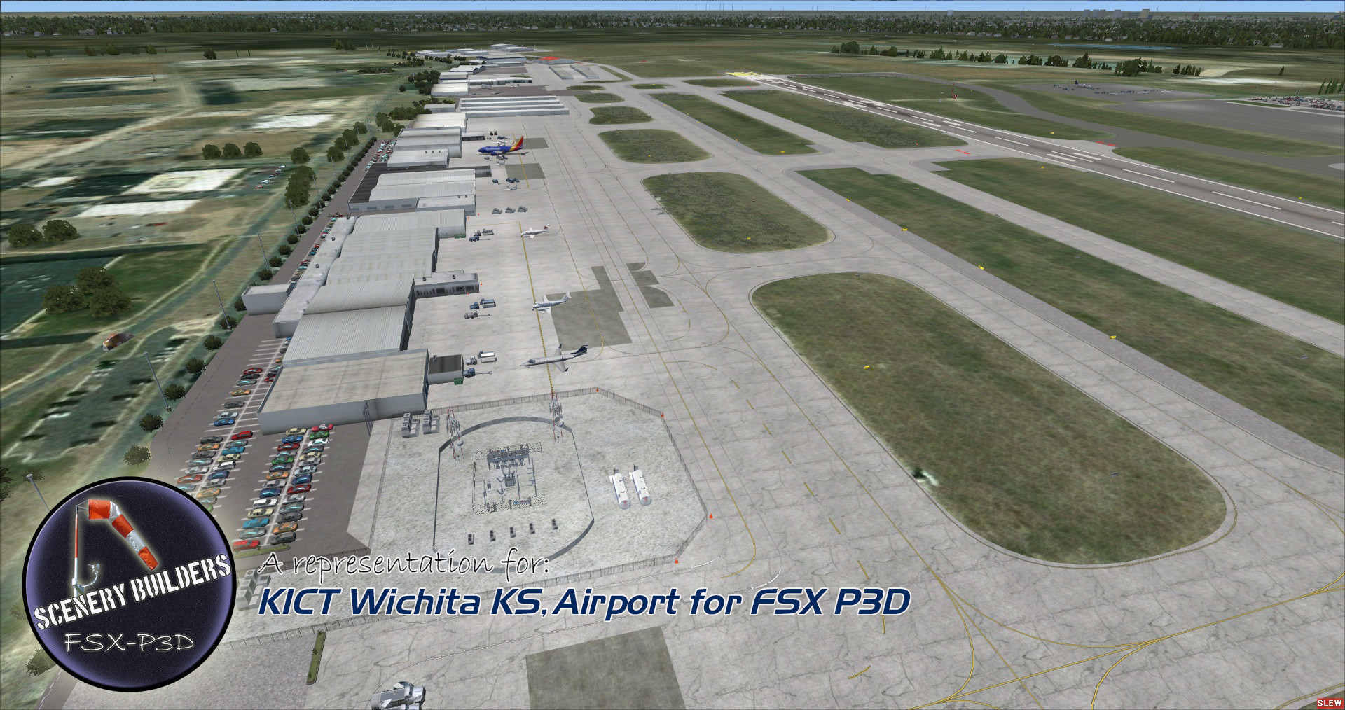 FSXCENERY - KICT WICHITA KS FSX P3D