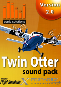 SONIC SOLUTIONS - TWIN OTTER SOUNDPACK V2 FSX P3D